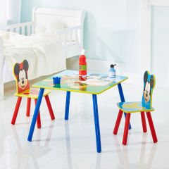 Kindertafel met stoeltjes Mickey Mouse