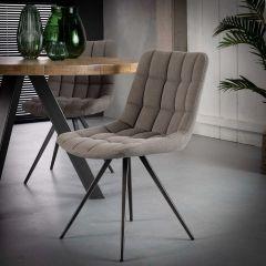 Set van 2 stoelen Gus - grijs