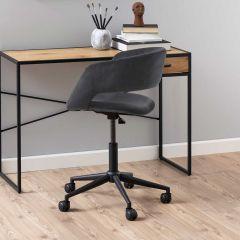 Bureaustoel Dusty - donkergrijs/zwart