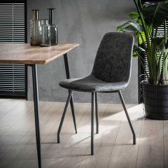 Set van 4 stoelen Violette - zwart