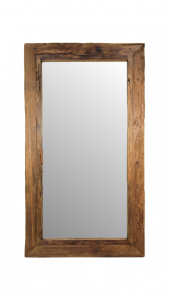 Wandspiegel Rustiek - 120x80 cm - drijfhout teak