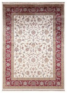 Vloerkleed Qoum Shah 2 Cream 150x80