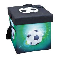 Opbergbox Voetbal - groen/zwart