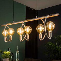 Hanglamp Chop 6 lichtbronnen Ø125mm
