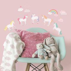 Muurstickers Unicorn