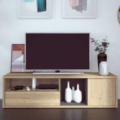 Tv-meubel Frame 177cm - lichte eik