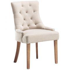 Set van 2 stoelen Fancy - zandkleurig