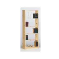 Boekenkast Olan 65cm met 4 planken - natuur