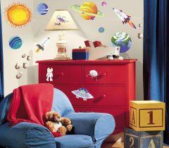 RoomMates muurstickers - Het heelal