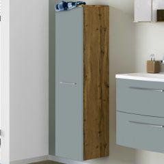 Kolomkast Gene 30cm 1 deur - wotan eik/groen