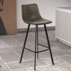 Set van 2 barstoelen Joran 68cm - grijs