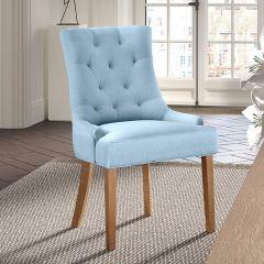 Set van 2 stoelen Anny - lichtblauw