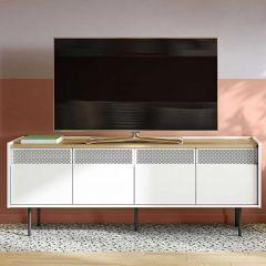 Tv-meubel Radio 160cm - eik/wit