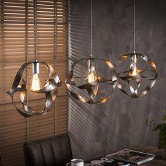 Hanglamp Twister 3xØ30cm