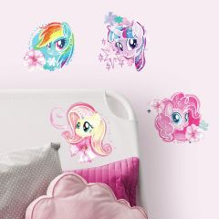 Muurstickers My Little Pony The Movie Watercolour