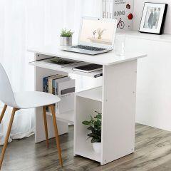 Computertafel Linda 80cm - wit