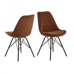 Set van 2 stoelen Erin - koper