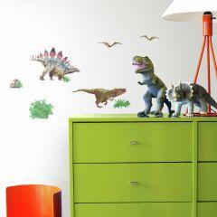 Muurstickers Dinosaur World