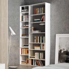 Boekenkast Varna model 1 - wit
