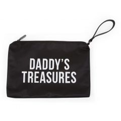 Daddy's clutch - zwart/wit