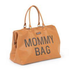 Luiertas Mommy Bag lederlook - bruin