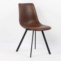 Set van 2 stoelen Norway - bruin