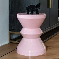 Bijzettafeltje Diavolo ø35cm - roze