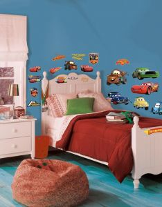 RoomMates muurstickers - Cars Piston Cup