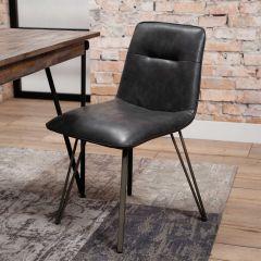 Set van 4 stoelen Saddie