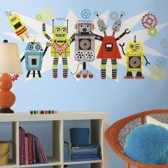 RoomMates muurstickers - Waverly Robots