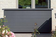 XL kussenbox Romario 210x110 - antraciet