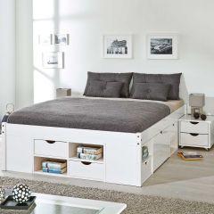 Bed Xavier 160x200cm - white wash