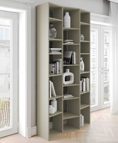 Boekenkast Varna model 7 - grijs