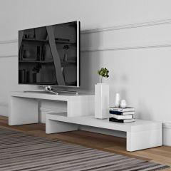 Tv-meubel Cliff 125cm - wit