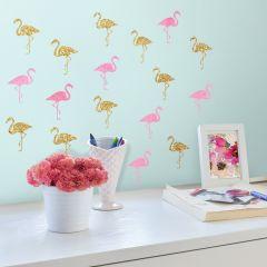 Muurstickers Flamingo