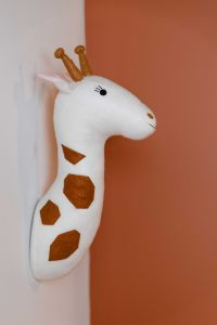 Vilten giraf