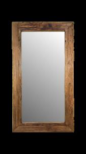 Wandspiegel Rustiek - 160x90 cm - drijfhout teak