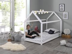 Huisbed Home 90x200 - wit