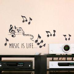 Muursticker Music