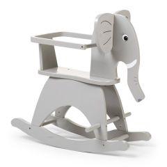 Olifant schommelstoel - grijs