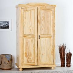 Kledingkast Bastian 104cm met 2 deuren - natuur