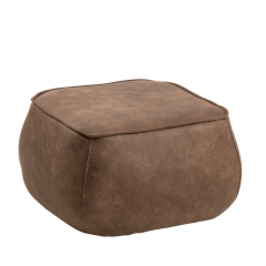 Poef Mirza 60x60 - bruin