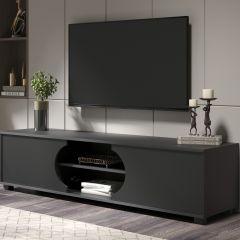 Tv-meubel Dost 160cm met 2 deuren - grijs