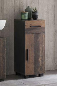 Badkamerkastje Casa - hout/grafiet
