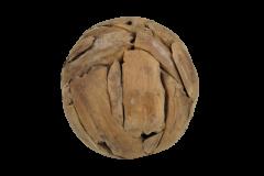 Decoratieve bal Bamba ø30cm - teak