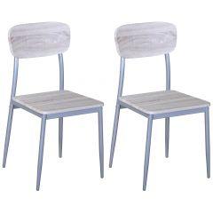 Set van 2 stoelen Toulouse
