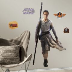 RoomMates muurstickers - Star Wars VII rey