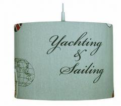 Hanglamp Sailing marine rood