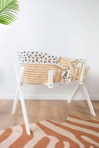 Staander voor mand Moses / babygym - wit