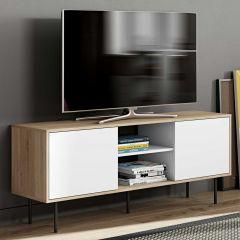Tv-meubel Vibe 150cm - eik/wit